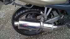 Kawasaki ZR-7 1999-2004  Stainless round ROAD LEGAL MTC Exhaust
