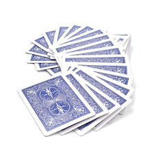 Magic Deck of Cards Magician Prank Trick Prop Gag Blue Back Party Games Toy