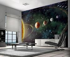 Planets - Solar system Wallpaper Wall Mural 2.32m x 3.15m New (FREE P+P) walls