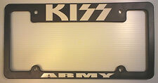 KISS license plate frame - KISS ARMY - show your love