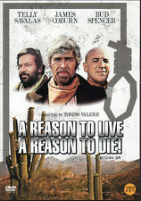 A Reason to Live A Reason to Die - Telly Savalas James Coburn (NEW) Western DVD