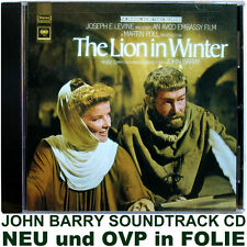 The Lion in Winter - John Barry - Soundtrack CD NEU und OVP in FOLIE