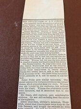 m7-4 ephemera 1885 article the dynamitards at bow street cunningham trial