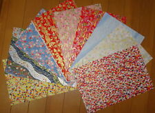 Genuine Japanese Yuzen Washi Chiyogami Paper 9 Sheets For Paper Craft (Origami)