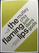 "The Flaming Lips & Modest Mouse,2 Sided Punk/Rock Mini Poster Art 14x10"",Ref:179"