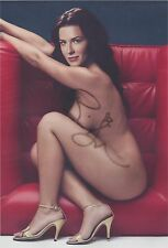 Bridget Regan (Nude) Legend of the Seeker White Collar RARE SIGNED RP 8x10 WOW!!