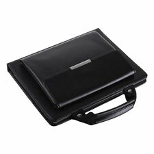 iPad Air Black Stand Handbag Case with Handle & Storage Compartment