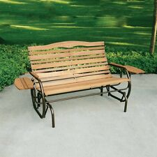 Jack Post CG-12Z Country Garden Glider Bench with Trays