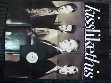 KISS LIKE THIS 1990 FAITH LIKE THIS & 2 SIDED POSTER 7in SINGLE RECORD JUKEBOX