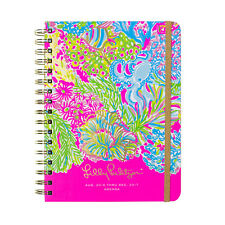 LILLY PULITZER - 2016-2017 Agenda - 17 month Planner - Lover's Coral - Large
