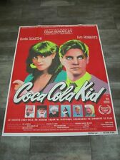 COCA COLA KID Eric Roberts 1985 Affiche Originale 120x160 Vintage Movie Poster