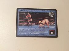 Ruthless Aggession WWE Raw Deal promo card from 2002 24/PR Triple H