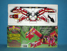 POWER RANGERS RED DRAGON THUNDERZORD BOXED ALL PARTS 188
