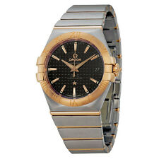 Omega Constellation Chronometer Automatic Steel and Rose Gold Mens Watch