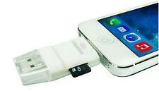 USB i-Flash Drive TF Card Reader for Iphone 5 5S 6 6S Ipad Mini Air Ipod touch