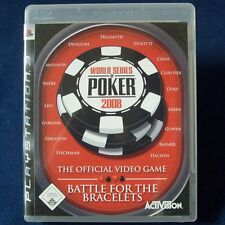 PS3 - Playstation ► World Series of Poker 2008 - Battle For The Bracelets ◄ TOP!