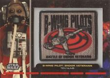 """Star Wars Galactic Files - PR-29 """"Ten Numb"""" Embroidered Patch Relic Card"""