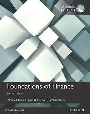 Foundations of Finance by John D. Martin, Arthur J. Keown, J. William Petty (Pap