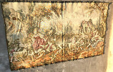 Un superbe français aubusson wall hanging tapestry 38''By 66""