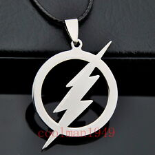 cool Flash Lightning Stainless Steel Pendant Necklace ST172