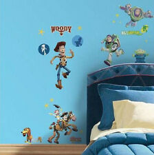 Kids Wall Decor ~TOY STORY ~ Glow in the Dark Peel & Stick Room Decals ~ NIP