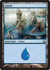 FOIL Isola 256 - Island 256 MTG MAGIC RtR Return to Ravnica Ita