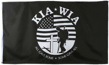 KIA-WIA All Gave Some Some Gave All Korean War 3' x 5' Flag