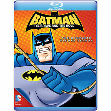 Batman: The Brave and The Bold - The Complete Second Season (bd) (mod)  NEW