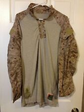 "USMC FROG SHIRT DESERT DIGITAL MARPAT DEFENDER ""M"" LARGE -LONG"