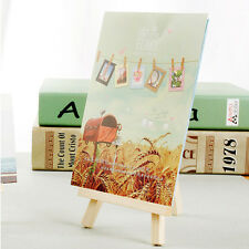Wooden Artist Mini Easel Stand Painting Canvas Craft Exhibit Display