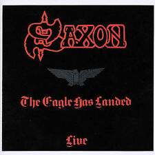 SAXON The Eagle Has Landed LIVE **LIKE NEW** (CD, 1999) CLASSIC ROCK SERIES UK