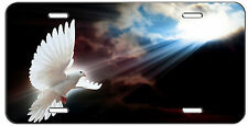 CUSTOM LICENSE PLATE INTO THE LIGHT DOVE CHRISTIAN AUTO TAG