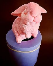 3D Silicone rabbit Mold soap candle Easter bunny Homemade