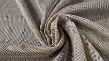 "BEIGE DESERT TAN MILITARY MESH TACTICAL NYLON 52"" MIL-SPEC C-8061 RASCHEL FABRIC"