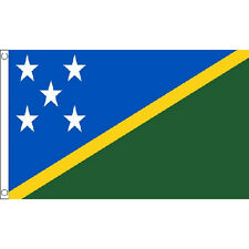 Solomon Islands Flag 5Ft X 3Ft Oceania Island Country Banner With 2 Eyelets New