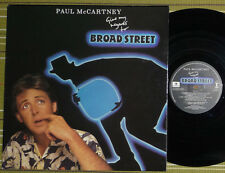PAUL McCARTNEY, GIVE MY REGARDS TO BROAD STREET, LP 1984 UK EX/EX- GATEFOLD/SL