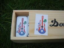 Dominoes with Puerto Rico Cuatro - PR - Free Shipping...!