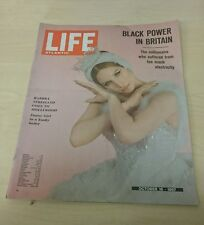 Vintage Life Atlantic Magazine - October 16 1967 - Black Power in Britain