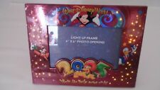 Cute 2005 Walt Disney World Where the Party Never Ends Light Up Photo Frame