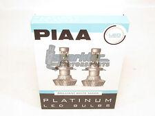 PIAA 9006 HB4 Platinum LED Headlight Light Bulbs Twin Pack Brilliant White 6000K