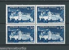 FRANCE VANNES - 1962 YT 1333 bloc de 4 - TIMBRES NEUFS** LUXE
