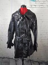 Chico's trench jacket cost snake chic magnefique outerwear black size 3 XL NWT