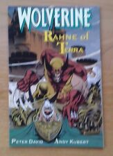 Wolverine; Rahne of Terra by Peter David (1st Edition Paperback, August 1991)