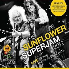 Sunflower Superjam 2012 2 DVD alice cooper bryan may ian paice bruce dickinson