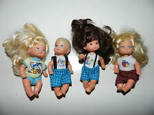 Vintage Mattel Barbie Heart Family Baby Doll Figures 1976 1995
