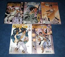 STAR WARS PRINCESS LEIA #1 2 3 4 5 1st print set MARVEL COMICS 2015 TERRY DODSON