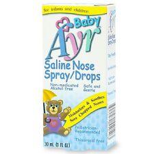 Ayr Baby's Saline Nose Spray Drops 1 fl oz (30 ml)