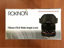 Rokinon FE14M-FX 14mm F2.8 Ultra Wide Lens for Fujifilm X-Mount Cameras