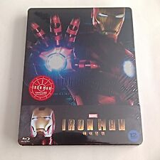 Marvel Iron Man Blu-Ray Steelbook [Korea] KimchiDVD 1/4 Slip #195/700 SOLD OUT!