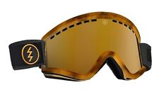 NEW Electric EGV Tortoise Tort Gold Mirror ski snowboard goggles 2016 Msrp$90